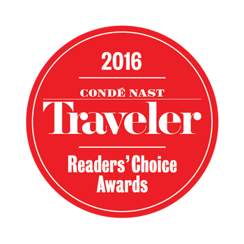 2016 Conde Nast Travler Readers Choice Awards
