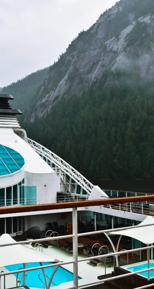 Seabourn Sojourn in Alaska
