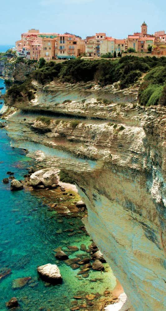 Corsica, France Shoreline