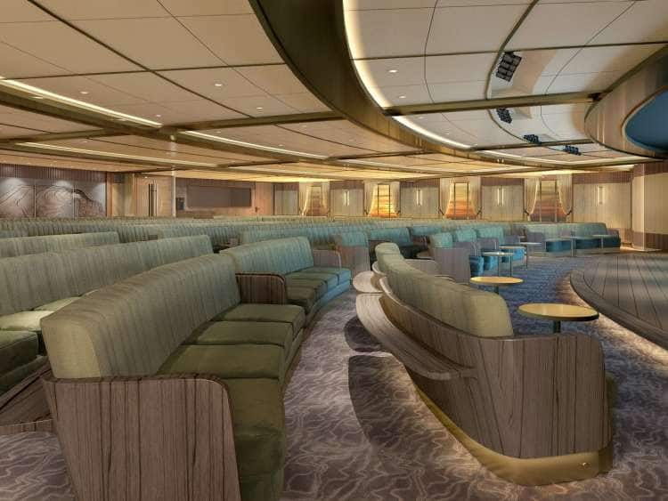 Seabourn Venture: A view of the Discovery Center on a small ship cruise