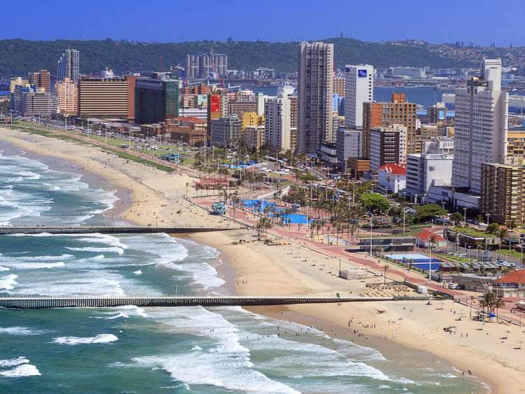 South Africa, Kwazulu Natal, Durban, Gold Mile