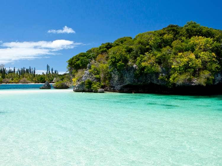 New Caledonia, South Province, Ile des Pins, Kanumera Bay