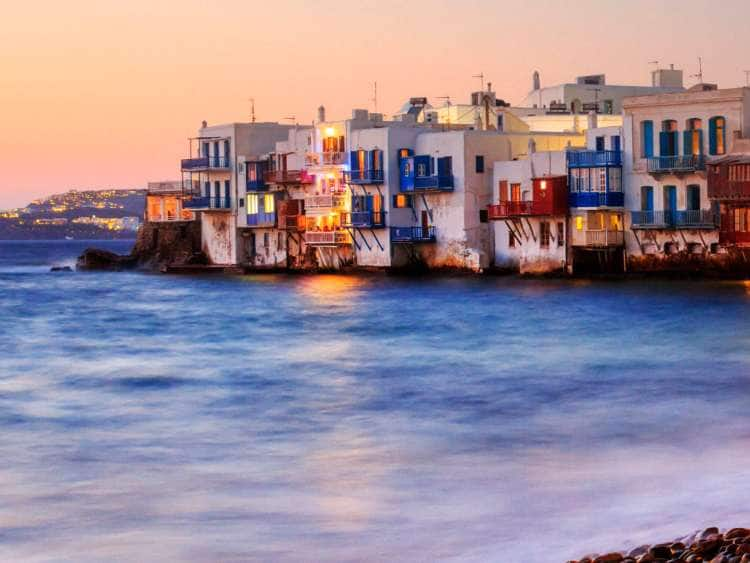 Greece, Cyclades, Mikonos Island, Little Venice
