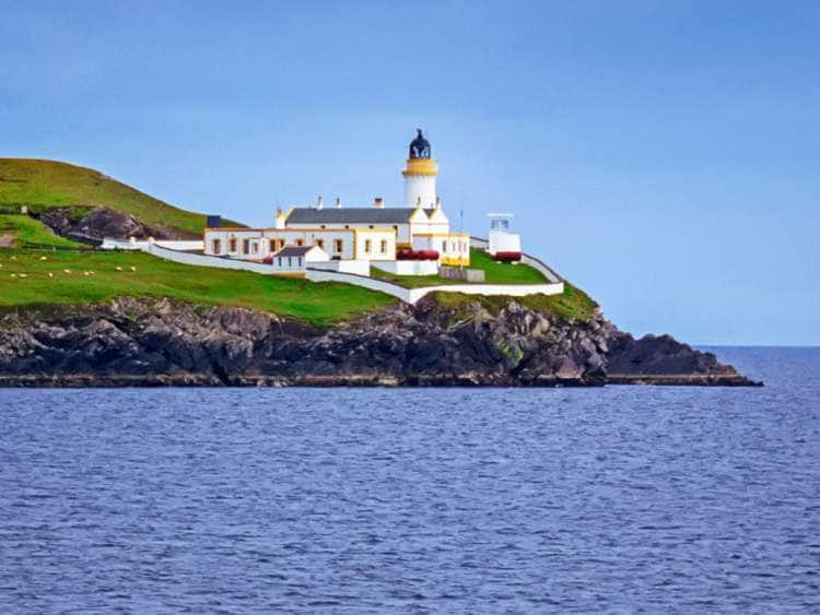 Scotland, Lerwick, Bressay Lighthouse