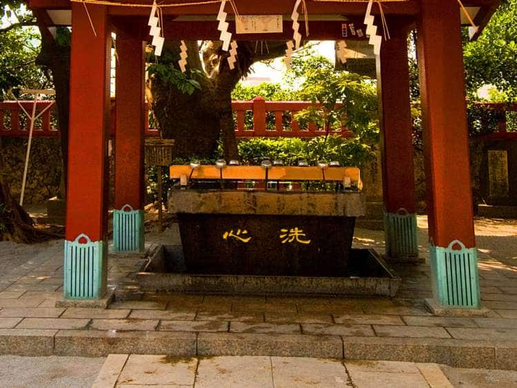 Japan, Okinawa, Naha, Naminoue Shrine, Drinking Well.