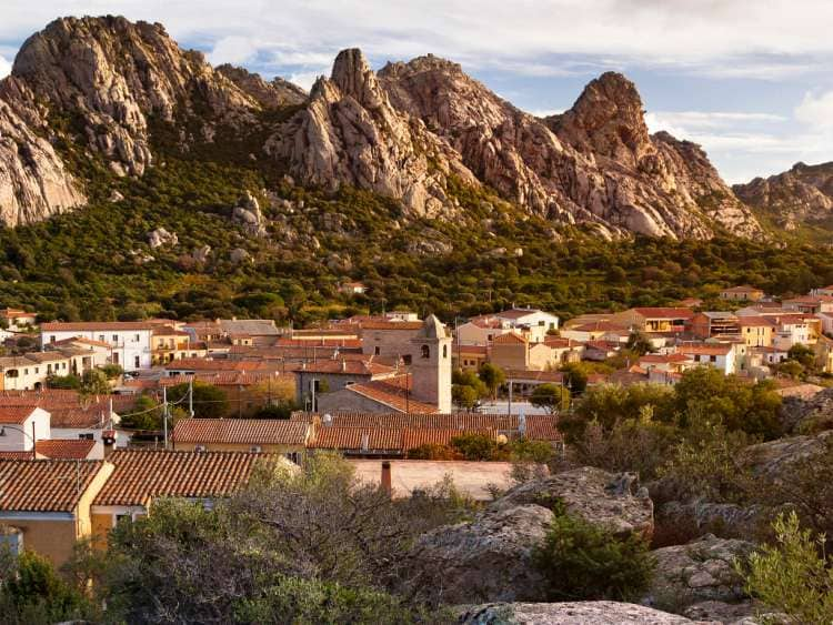 Italy, Sardinia, Mediterranean area, Olbia-Tempio district, Olbia, San Pantaleo village