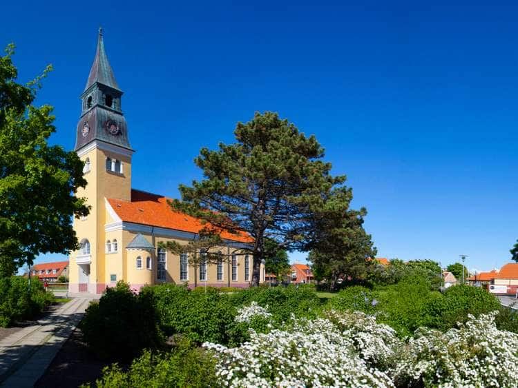 Denmark, Jutland, Skagen, The cathedral