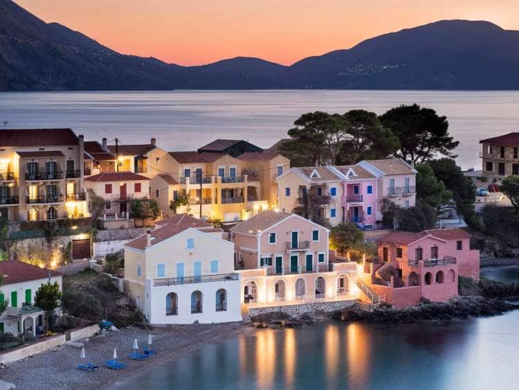 Greece, Ionian Islands, Cephalonia Island, Kefalonia, Assos