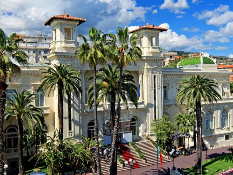 Italy, Liguria, Imperia district, Riviera di Ponente, San Remo, Casino in San Remo