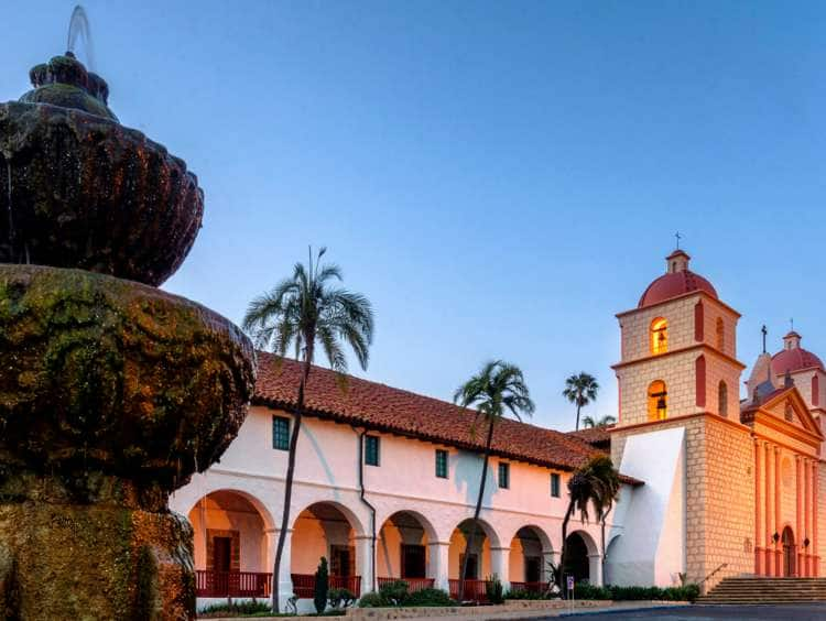 USA, California, Santa Barbara, Mission
