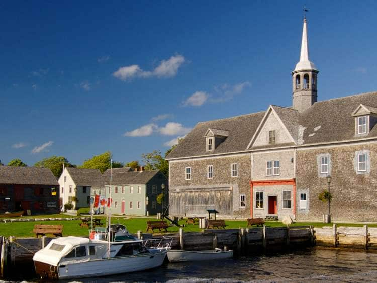 Shelburne Harbor, Historic District, Lighthouse Route, Nova Scotia, Canada