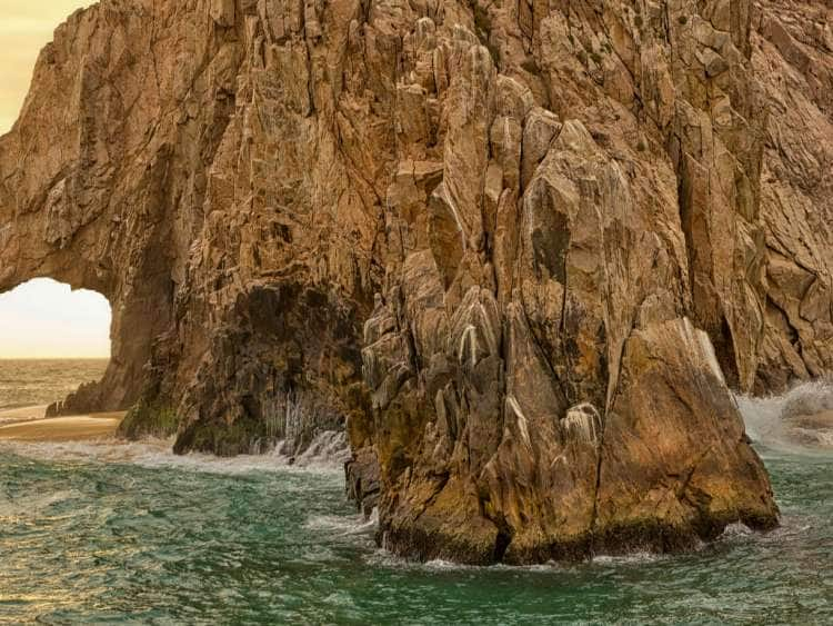 Mexico, Baja California Sur, Cabo San Lucas, Gulf of California, Sea of Cortez, Gulf of Mexico, The Arch (El Arco) and sea stacks, Land's End