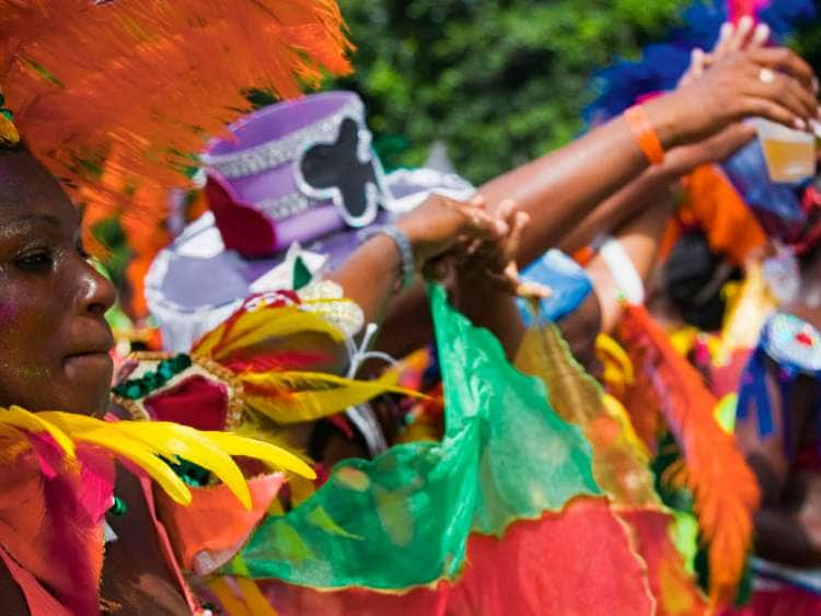 Saint Lucia, Castries, Caribbean sea, St Lucia annual Carnival celebrations in July