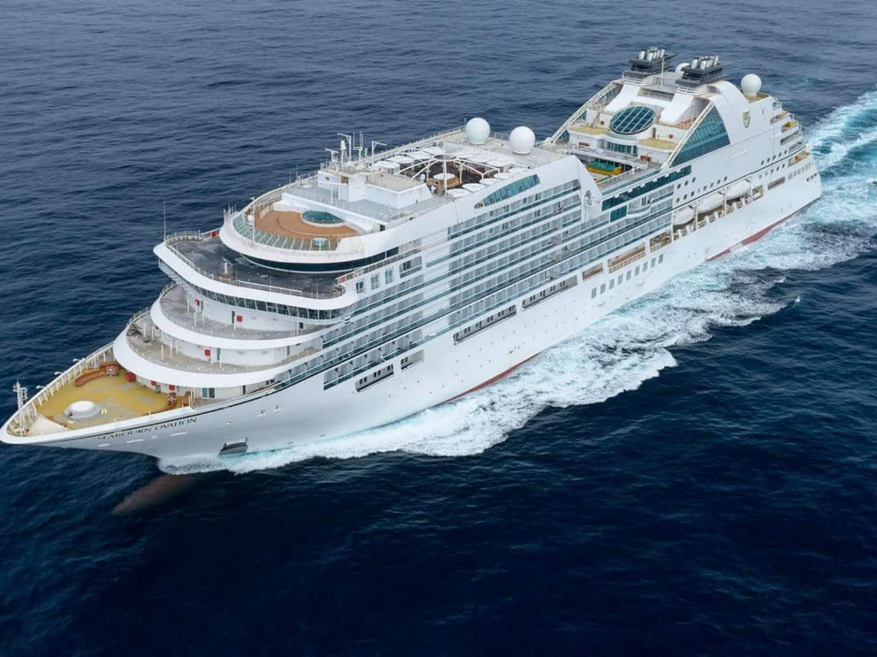 seabourn ovation ultra luxury cruise ship seabourn
