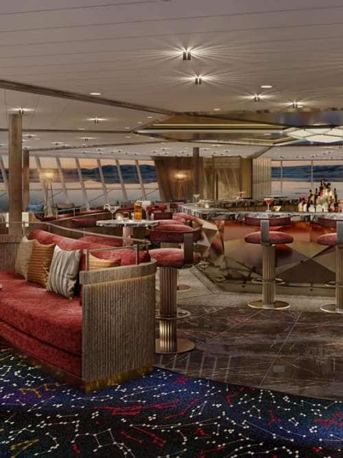 RenderingofnewConstellationLoungeonboardtheultra-luxuryexpeditionshipSeabournVenture