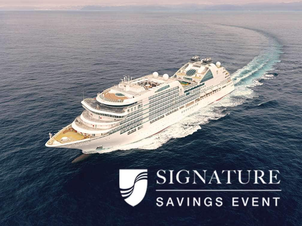 Signature Savings Event: Special offer on Luxury Cruises