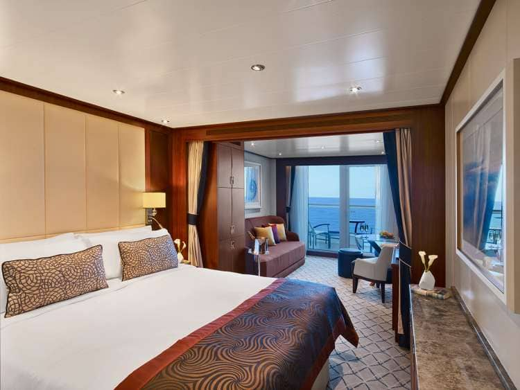 Luxury Cruise All Suite Accommodations Seabourn