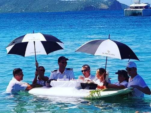 Caviar in the Surf presented by Seabourn