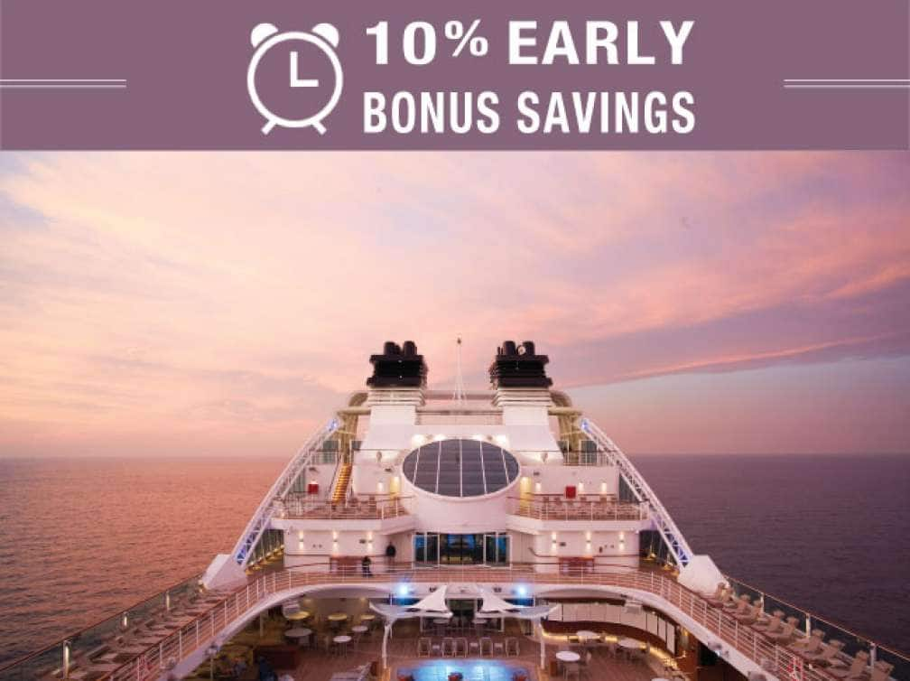10% Early Bonus Savings