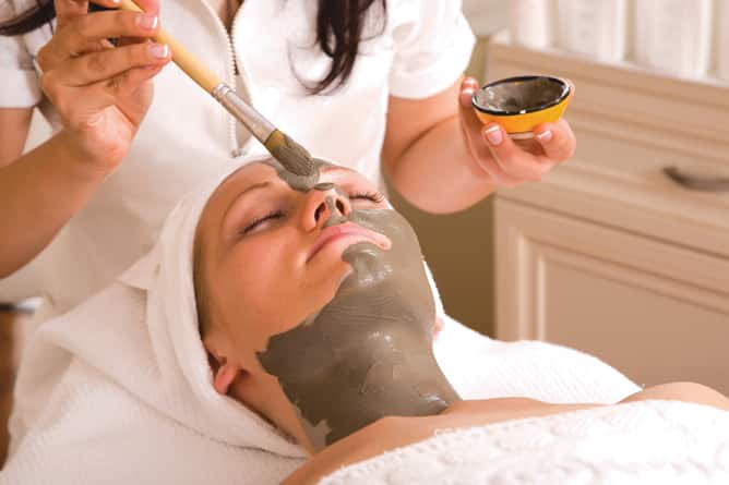 Women getting a mud mask in The Spa -- Ultra-Luxury Cruises on Seabourn