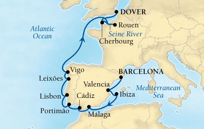 15-DAY GEMS OF IBERIA & FRANCE