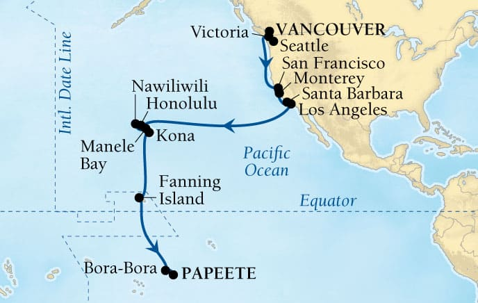 26-DAY GOLDEN PACIFIC PASSAGE