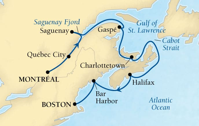 10-DAY CANADIAN MARITIMES & NEW ENGLAND