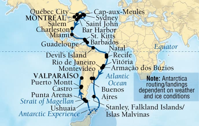 59-DAY 3 CONTINENTS EXPLORATION