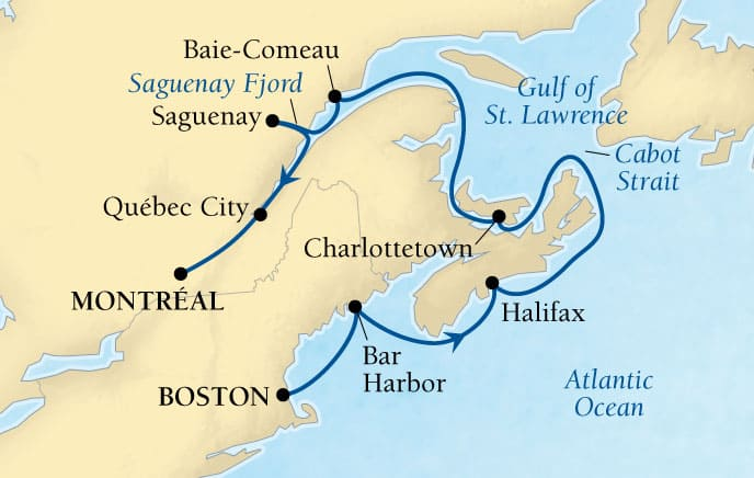 10-DAY NEW ENGLAND & CANADIAN MARITIMES