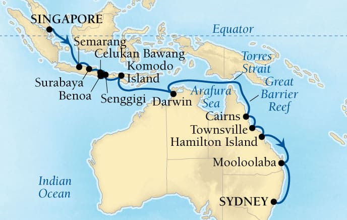 24-DAY ORCHID ISLES & GREAT BARRIER REEF