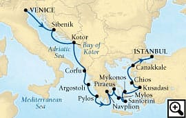14-day adriatic, greek isles and turkey