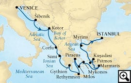 14-day adriatic, greek isles & turkey
