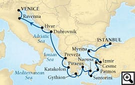 14-day grecian glories and adriatic