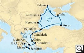 14-day black sea and greek isles