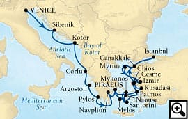 21-day grand greek isles and turkey