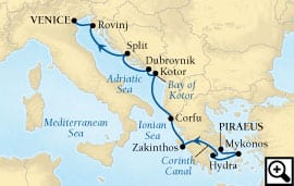 10-day aegean and adriatic highlights