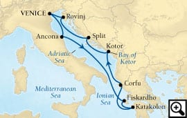10-day venice and adriatic treasures