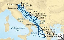 21-day venice and adriatic charms