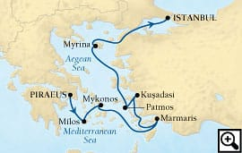7-day greek isles & ephesus
