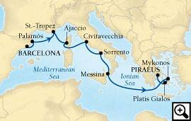 10-day mediterranean magic & rome