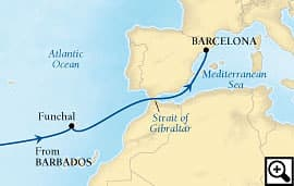 13-day passage to spain