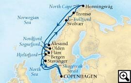 14-day majestic fjords & north cape