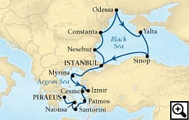 14-day black sea and aegean highlights