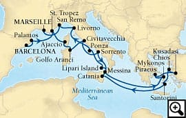 20-day cote d'azur, catalonia and rome