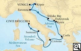 10-day adriatic enchantment and italy