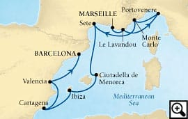 10-day rivieras and the spanish coasts
