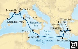 12-day mediterranean island quest