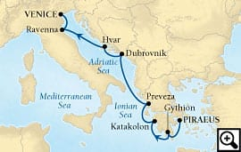 7-day greece and dalmatian delights
