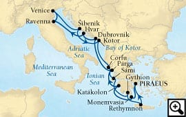 14-day grecian glories & adriatic