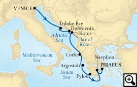 8-day adriatic and ionian odyssey